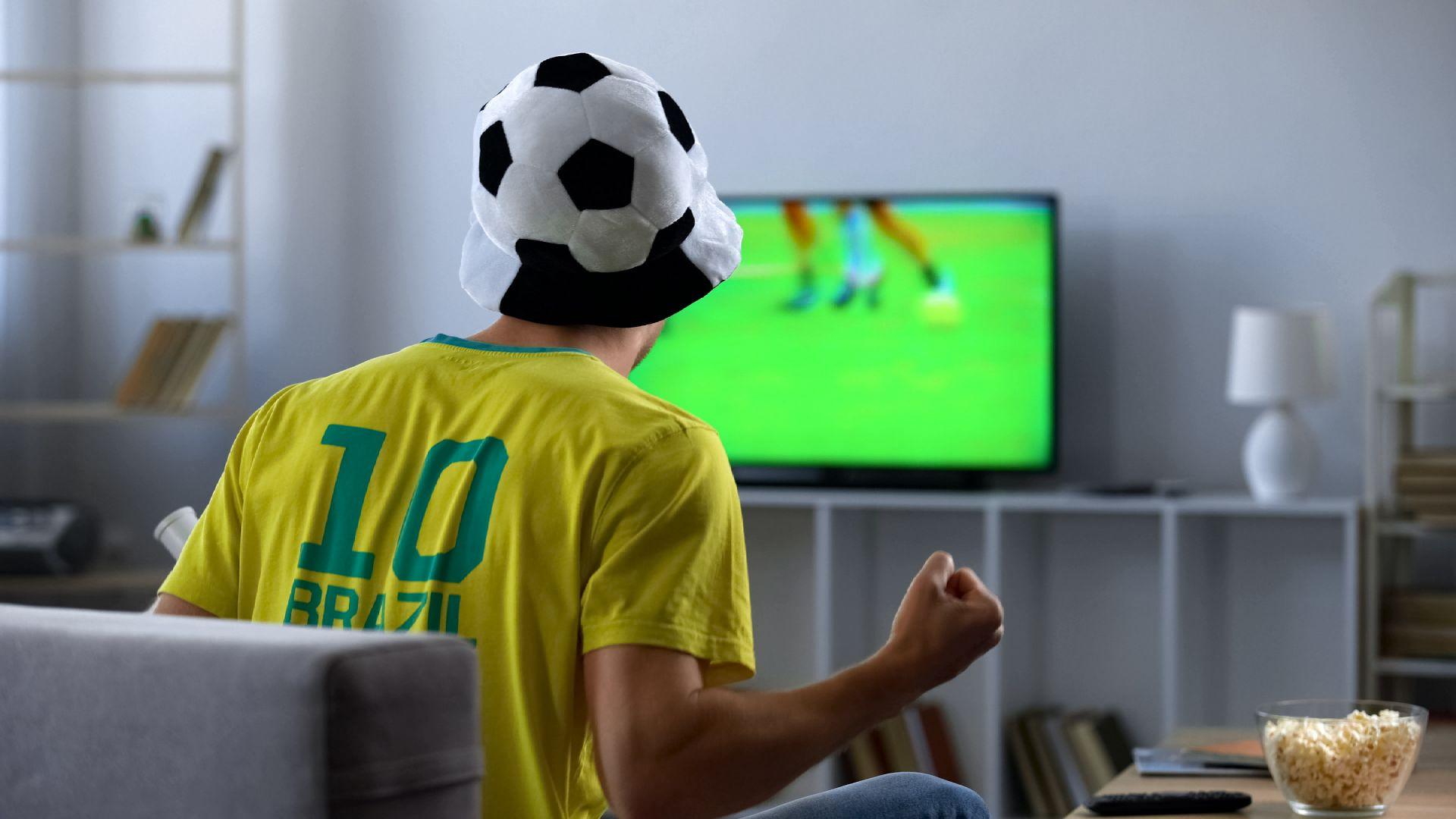 Vanavond voetbal op tv